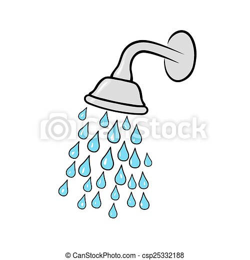 shower head stock illustration images 9 942 shower head rh canstockphoto com shower head clipart clipart shower invitations