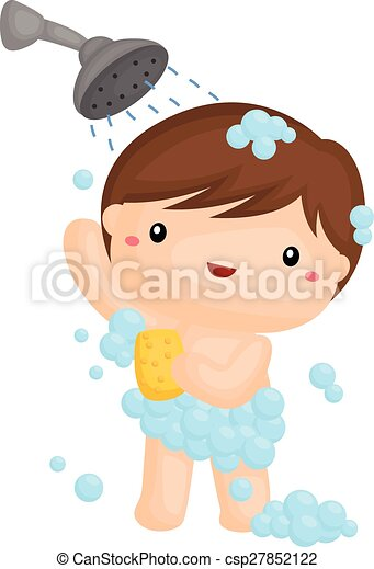 showering rh canstockphoto com shower clipart transparent shower clipart free