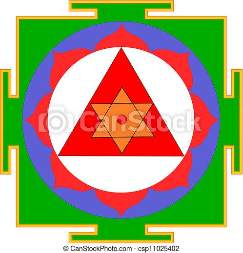 Shri Ganesha-yantra - csp11025402