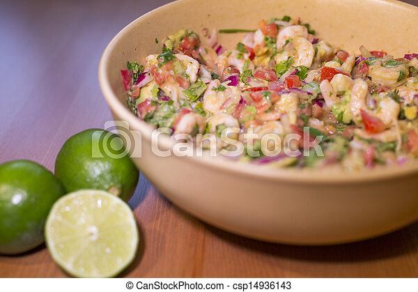 shrimp ceviche - csp14936143