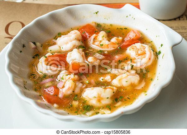 shrimp ceviche - csp15805836