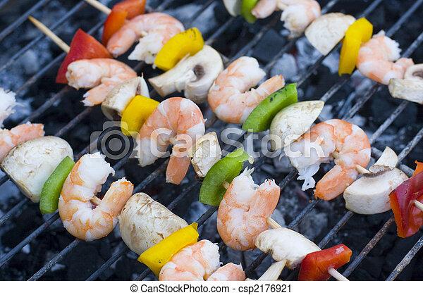 shrimp skewers - csp2176921