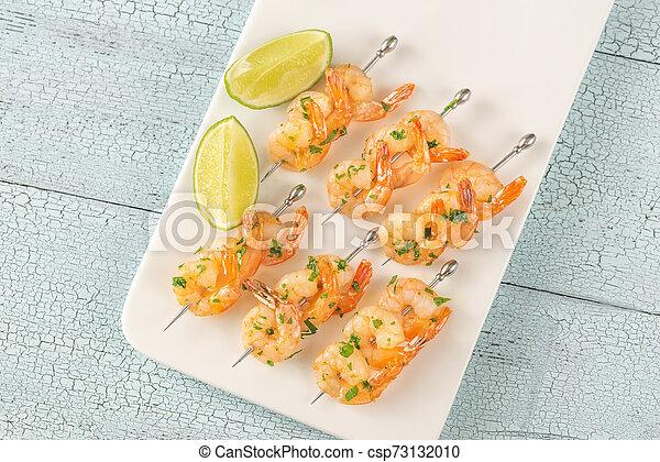 Shrimp skewers - csp73132010