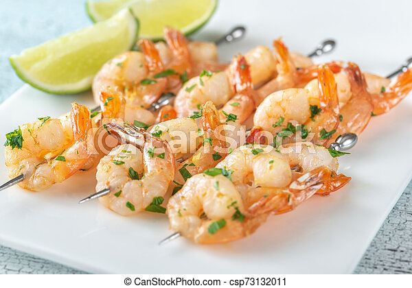 Shrimp skewers - csp73132011