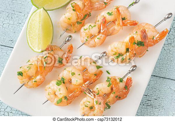 Shrimp skewers - csp73132012