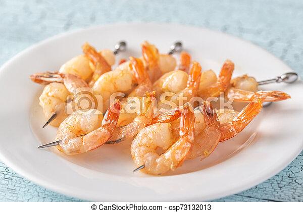 Shrimp skewers - csp73132013