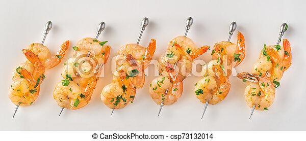 Shrimp skewers - csp73132014