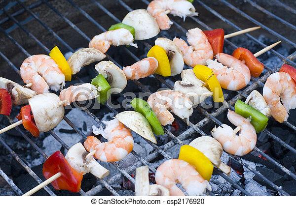 shrimp skewers - csp2176920