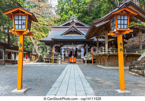 shrine on the mountain - csp14111528