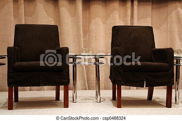 sièges, étape vide - csp0488324