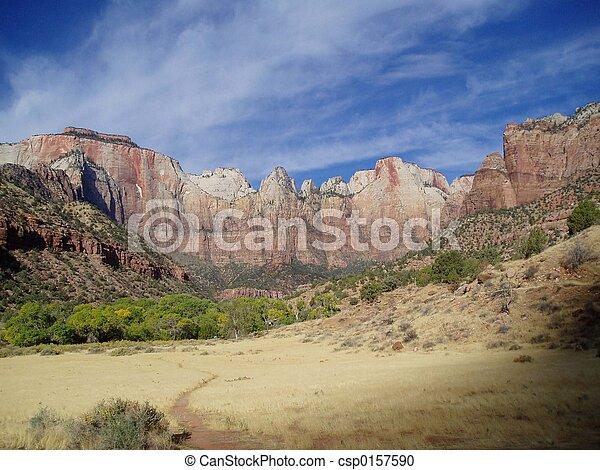 Parque nacional Zion - csp0157590