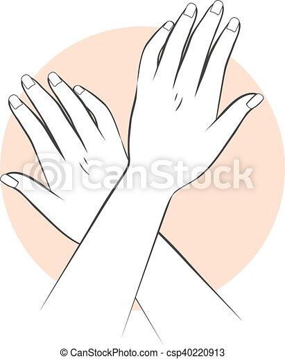 siła robocza, manicure, troska - csp40220913