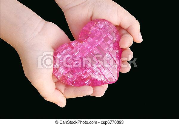 siła robocza, serce, b, dzieci - csp6770893