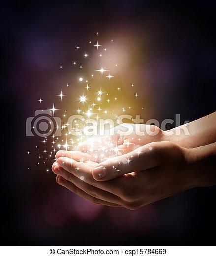 siła robocza, stardust, twój, magia - csp15784669