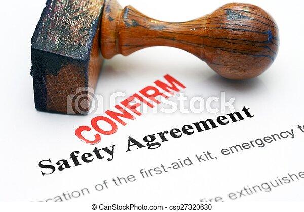 sicherheit, -, abkommen, bekräftigen - csp27320630