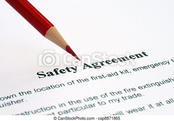 sicherheit, abkommen - csp8871865