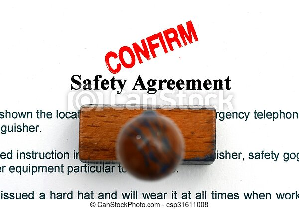 sicherheit, abkommen - csp31611008
