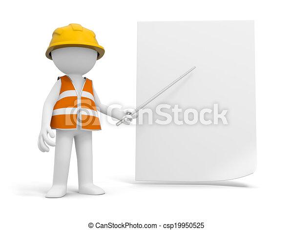 sicherheit, arbeiter - csp19950525