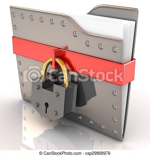 sicherheit, daten, concept. - csp29868976