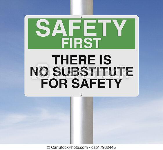 sicherheit, ersatz, nein - csp17982445