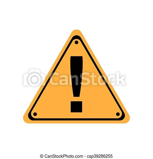 sicherheit, industrie, zeichen, straße, ikone - csp39286255