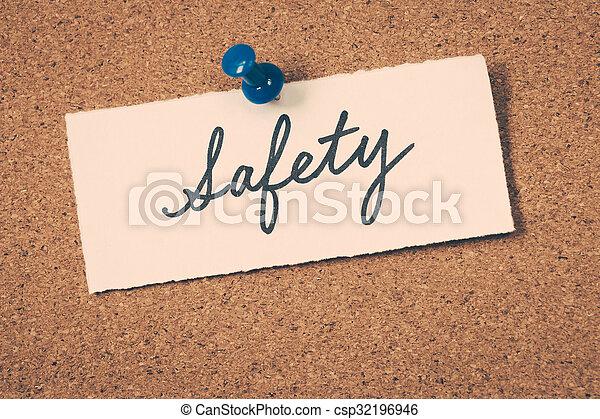Sicherheit - csp32196946