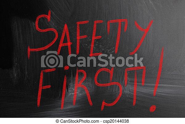 sicherheit zuerst - csp20144038