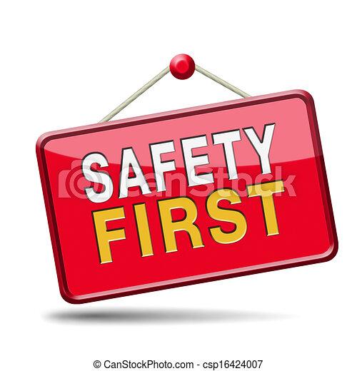sicherheit zuerst - csp16424007
