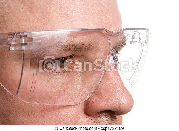Sicherheitsbrille - csp1722109