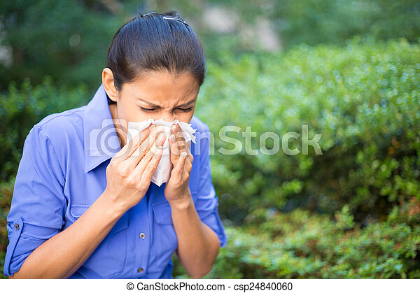 Sick day - csp24840060