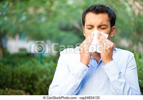 Sick day - csp24834133