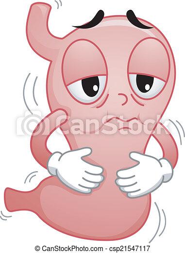 Sick Stomach - csp21547117