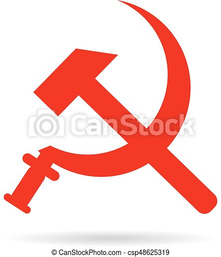 Sickle And Hammer Soviet Symbol Coat Of Arms Red Communism Ussr