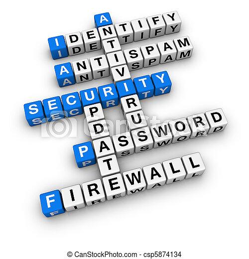 sicurezza, computer - csp5874134