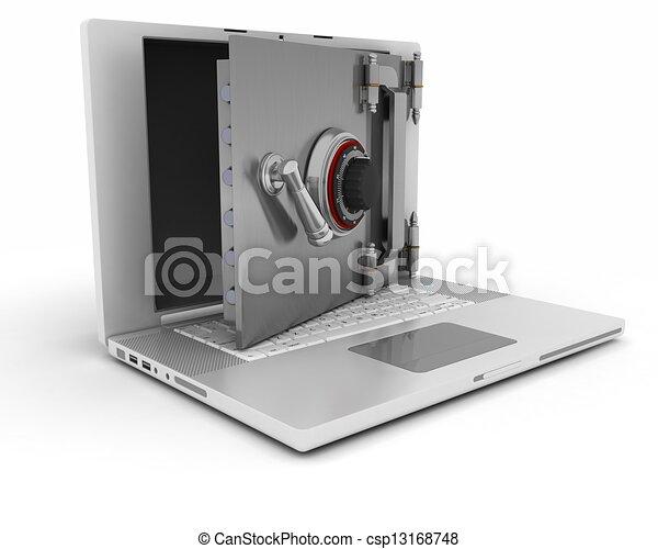 sicurezza, computer - csp13168748