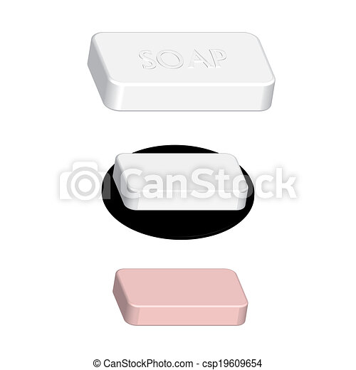 side soap - csp19609654