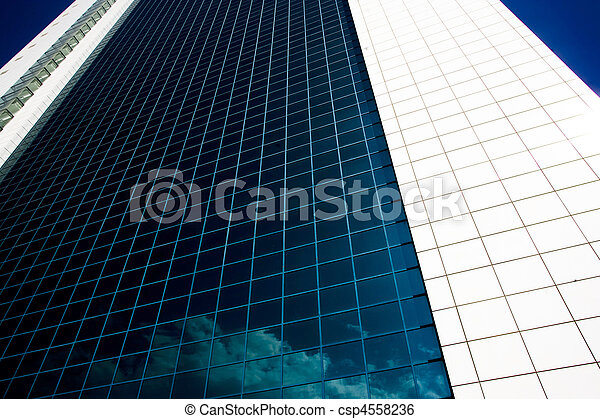 Side view of a building - csp4558236