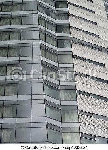 Side view of skyscraper - csp4632257