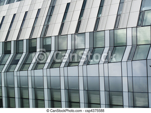 Side view of skyscraper - csp4375588