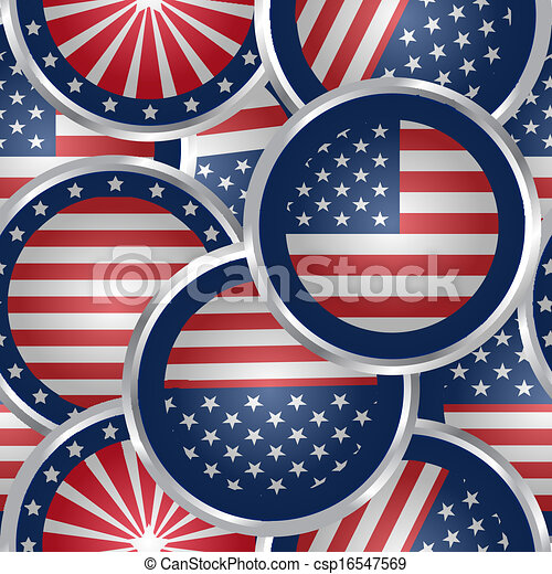 sieć, bandera, seamless, pikolak, amerykanka, tło - csp16547569