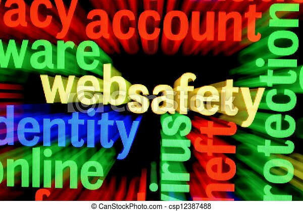 sieć, bezpieczeństwo - csp12387488