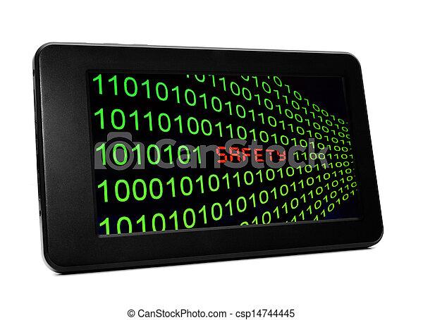 sieć, bezpieczeństwo - csp14744445