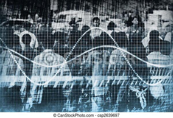 sieć, handel, analiza, dane - csp2639697