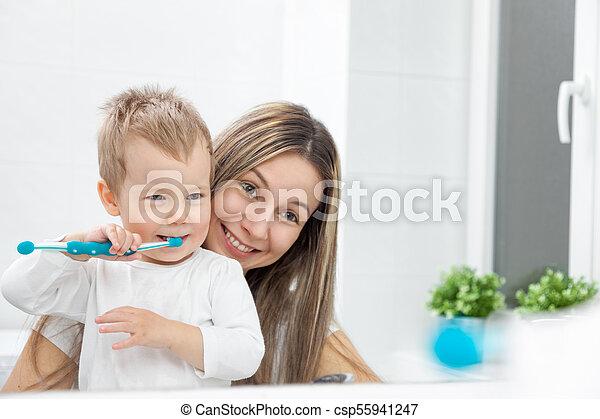 Kind mutter sohn hat mit Mutter: Kind