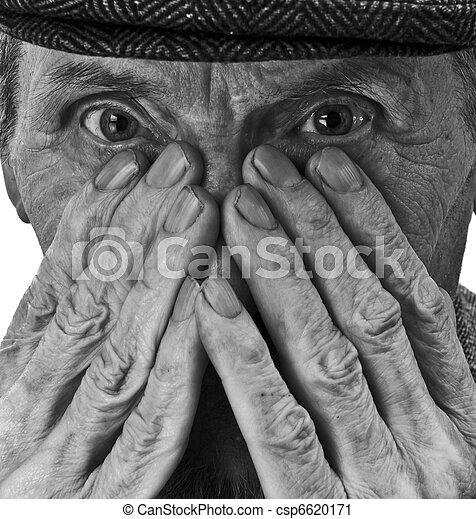 sien vieil homme mains yeux homme mains vieilles photographie de stock rechercher images. Black Bedroom Furniture Sets. Home Design Ideas
