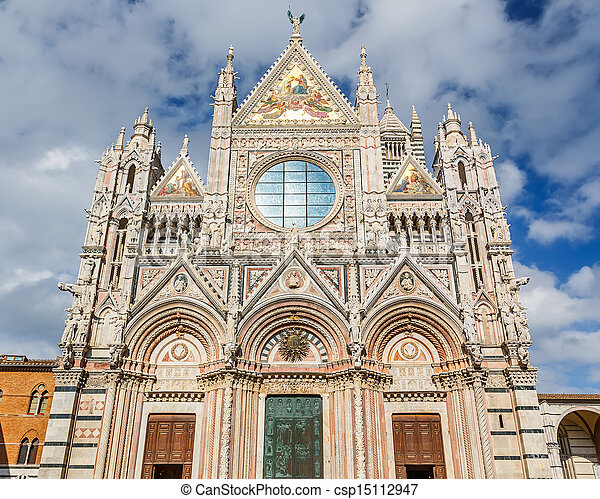 Siena Cathedral - csp15112947