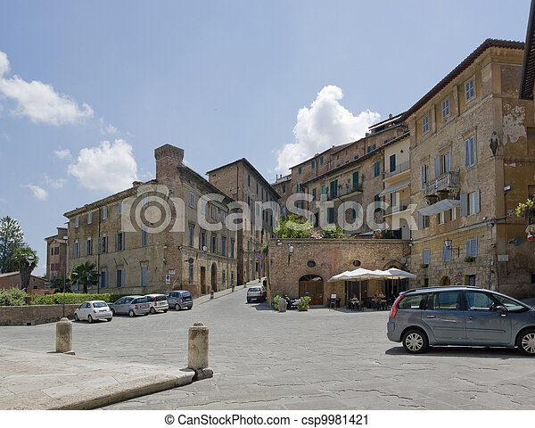 Siena in Italy - csp9981421