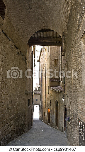 Siena in Italy - csp9981467