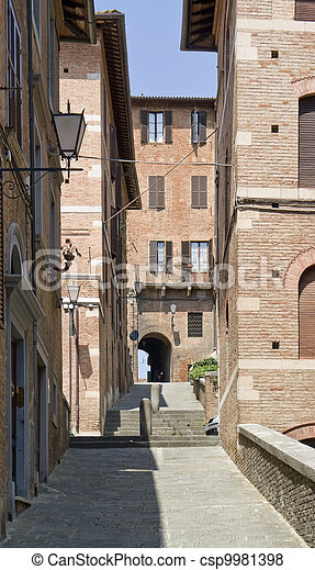 Siena in Italy - csp9981398