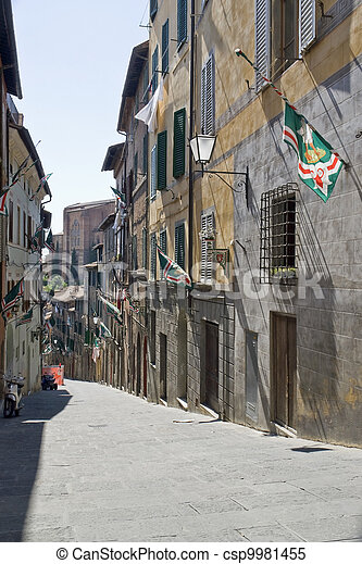 Siena in Italy - csp9981455